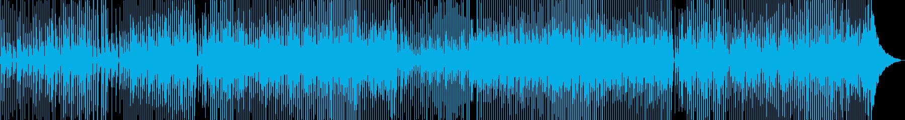 きらきらポップな軽快ミュージックの再生済みの波形