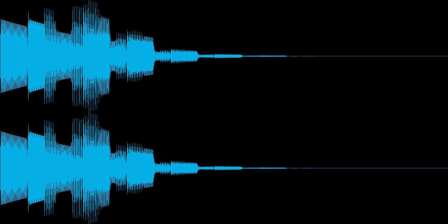 ピロリロン(決定、表示、ヒント)の再生済みの波形
