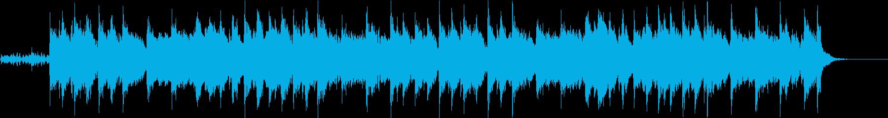 童謡「雪」(ゆきやこんこ)オーケストラ風の再生済みの波形