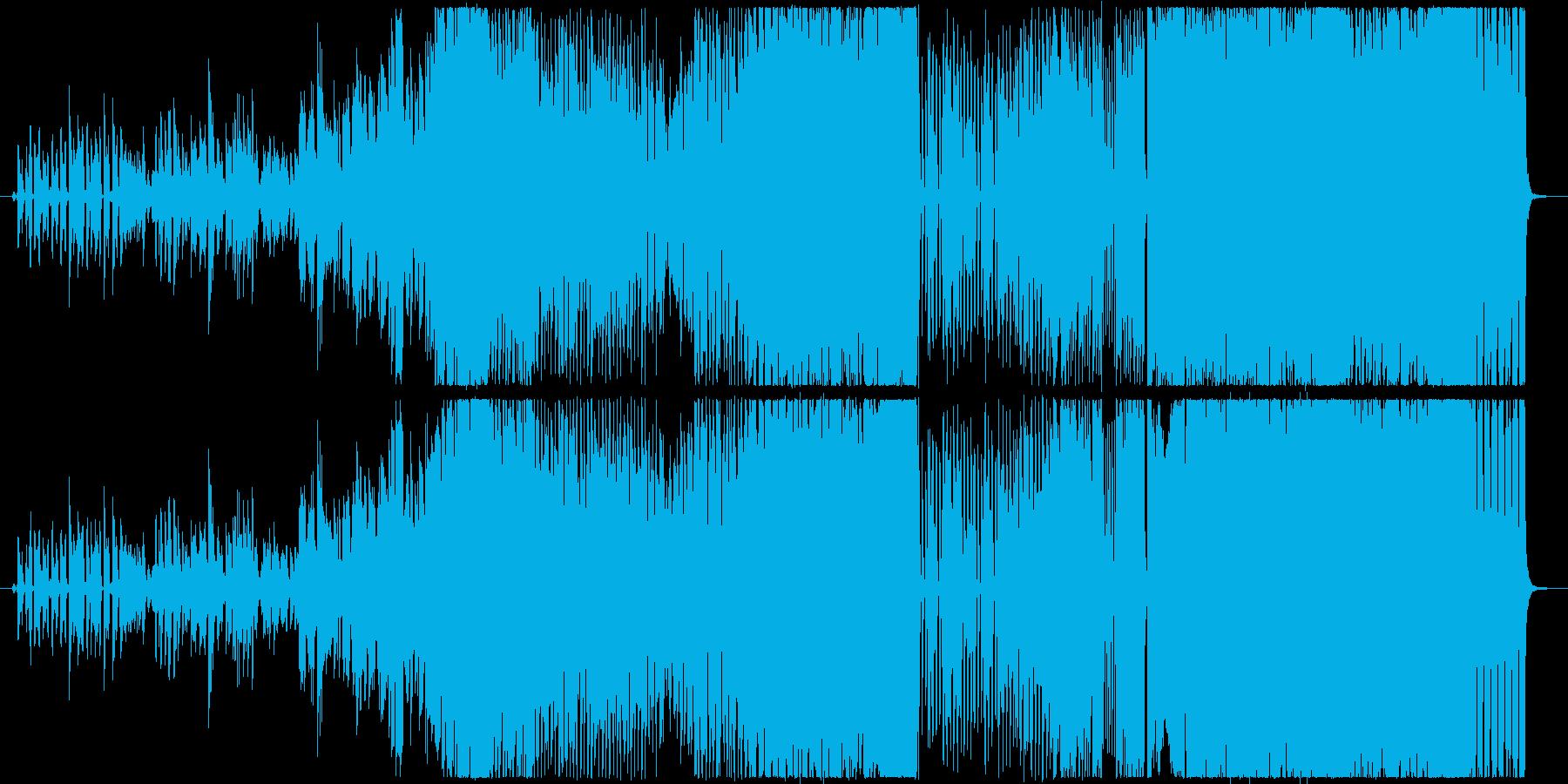 フォルテシモの再生済みの波形