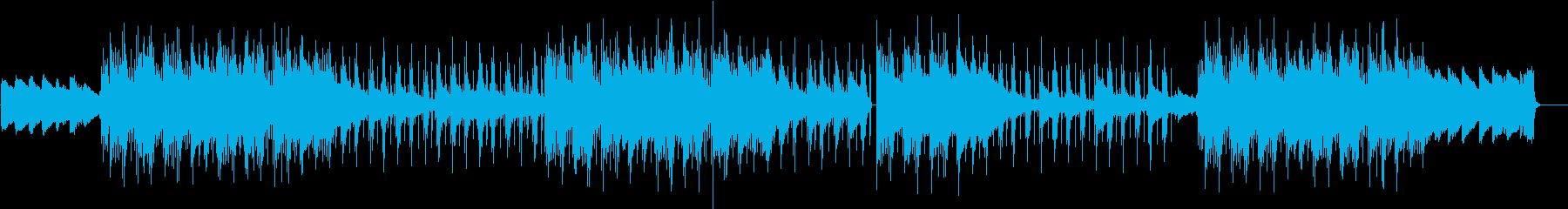 しっとり切ないチルアウトの再生済みの波形