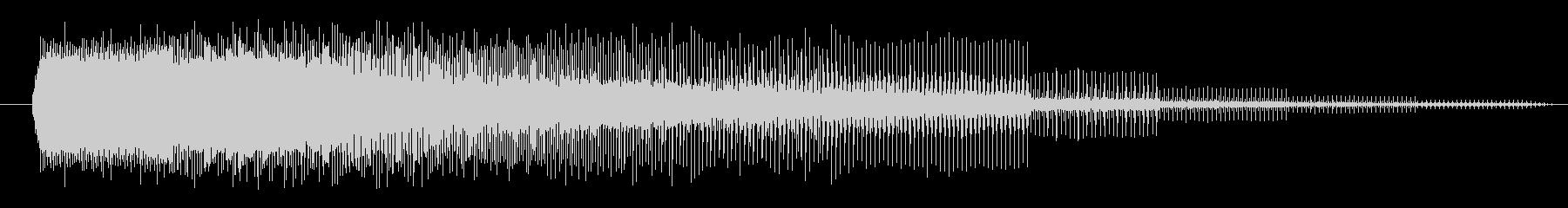 FX 合成ビームローディング01の未再生の波形