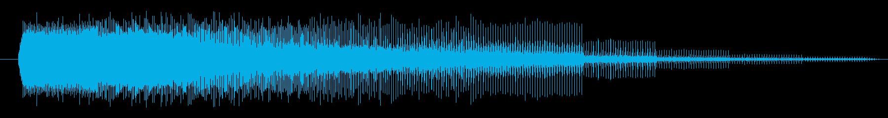 FX 合成ビームローディング01の再生済みの波形