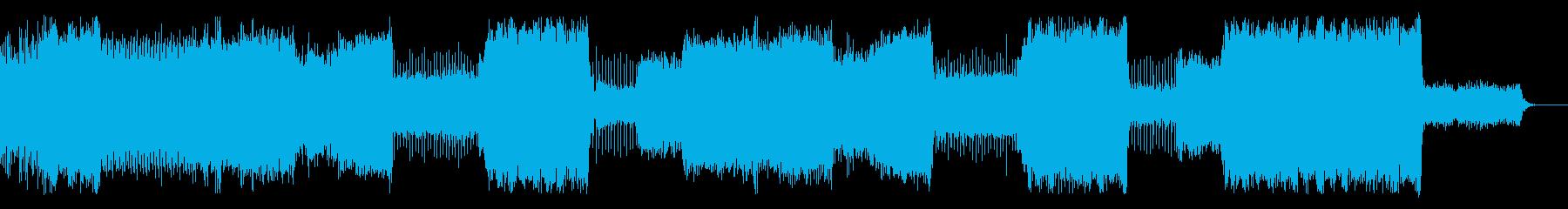 House/EDM/クラブ系ダンス/軽快の再生済みの波形