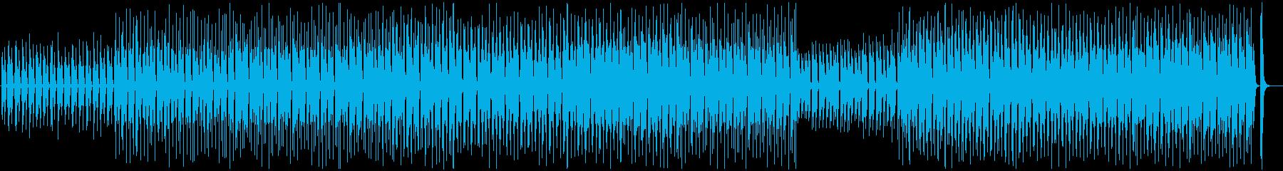 Refreshing, relaxing, ukulele, whistling's reproduced waveform