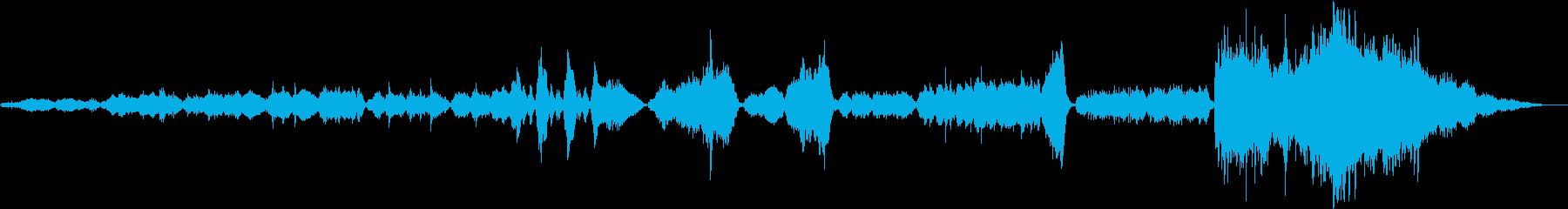 幻想的なムーンライトセレナーデの再生済みの波形