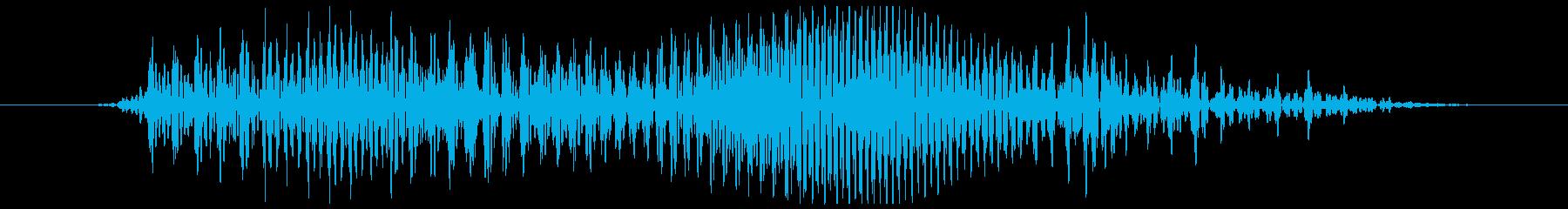 土曜の再生済みの波形
