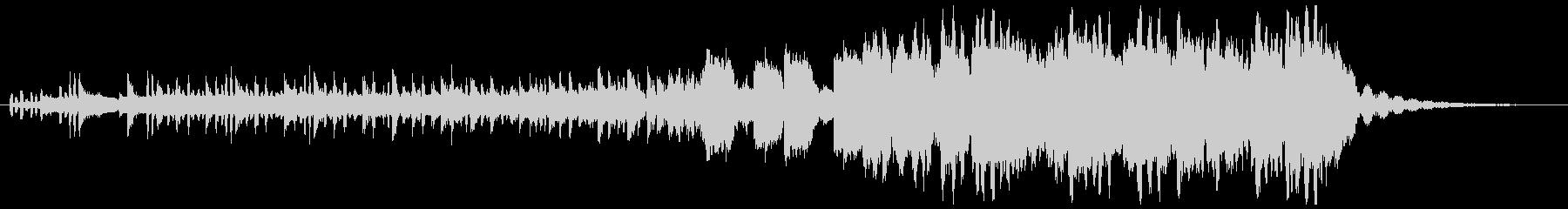 重低音強めのHipHopの未再生の波形
