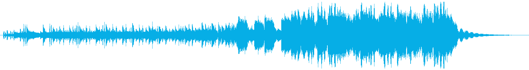 重低音強めのHipHopの再生済みの波形