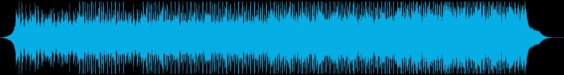 チュートリアル(中)の再生済みの波形