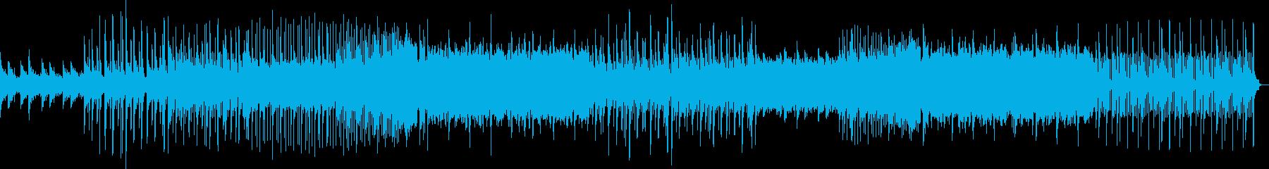 クリーントーンなEDMの再生済みの波形