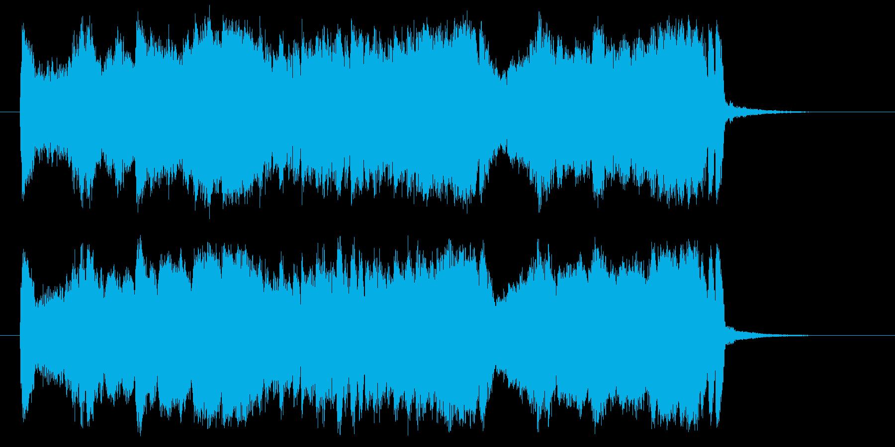 心弾むワクワクするトランペットジングルの再生済みの波形