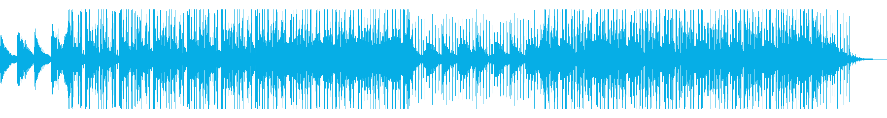 クールなエレクトリックピアノの楽曲の再生済みの波形