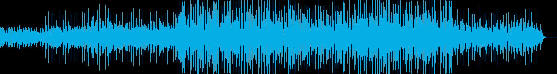 カフェのようなオシャレな曲(アコギ)の再生済みの波形