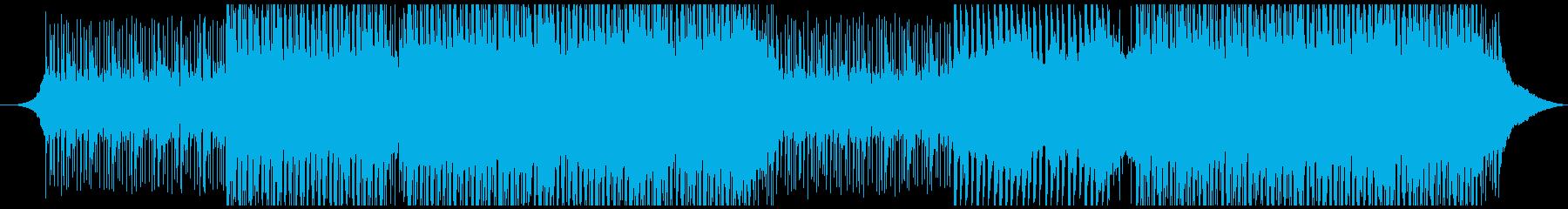 ひらめきの再生済みの波形