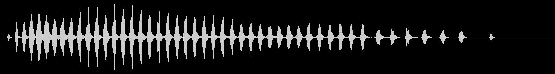 セミ ひぐらし カナカナカナ 単体_3の未再生の波形