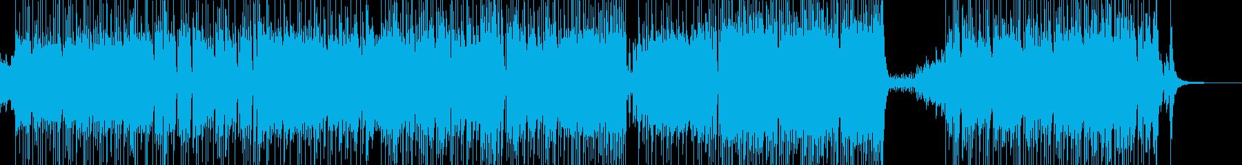 メルヘンな演出・ゆめかわポップス 短尺の再生済みの波形
