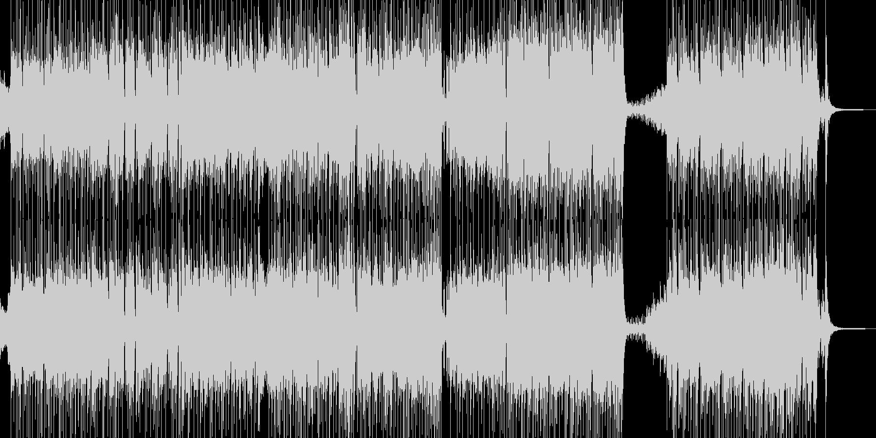 メルヘンな演出・ゆめかわポップス 短尺の未再生の波形