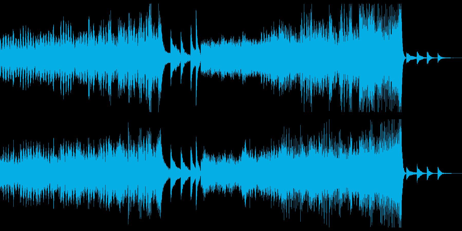 ストリングス、の再生済みの波形