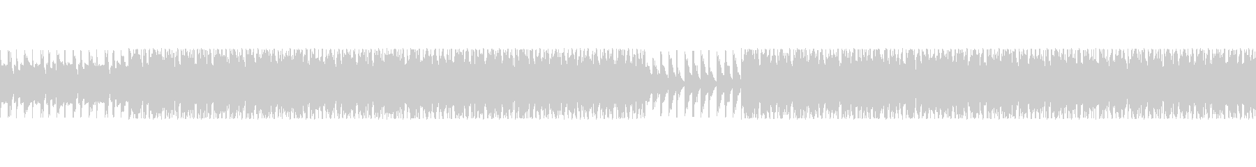 洞窟、工場イメージのBGM(ループ)の未再生の波形