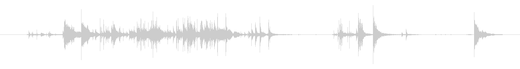 メタル チェーンプルアップ06の未再生の波形