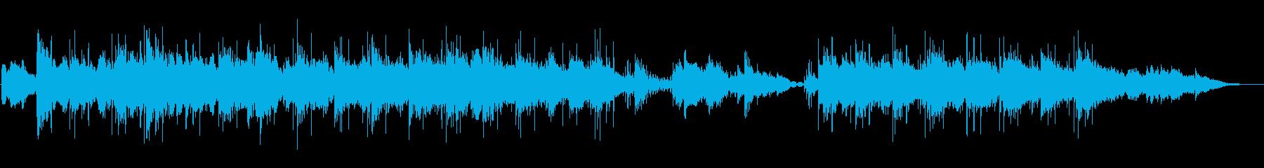 ギターとEピアノの物憂げな海辺のジャズの再生済みの波形