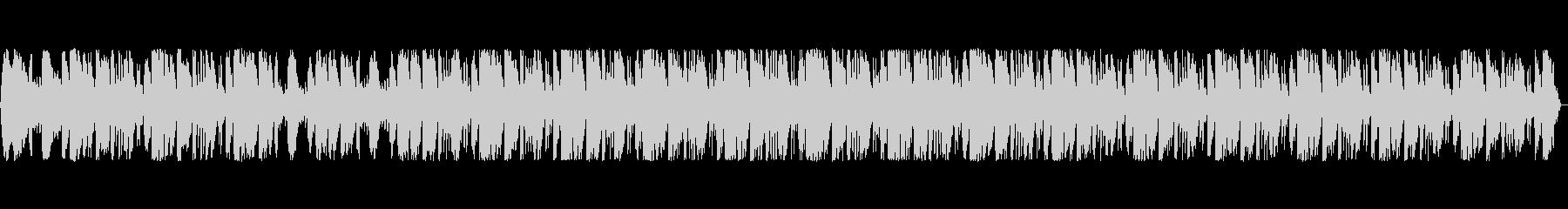シンセサイザーを使った近未来的なポップスの未再生の波形
