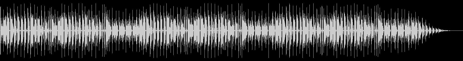 童謡「たなばたさま」脱力系アレンジの未再生の波形