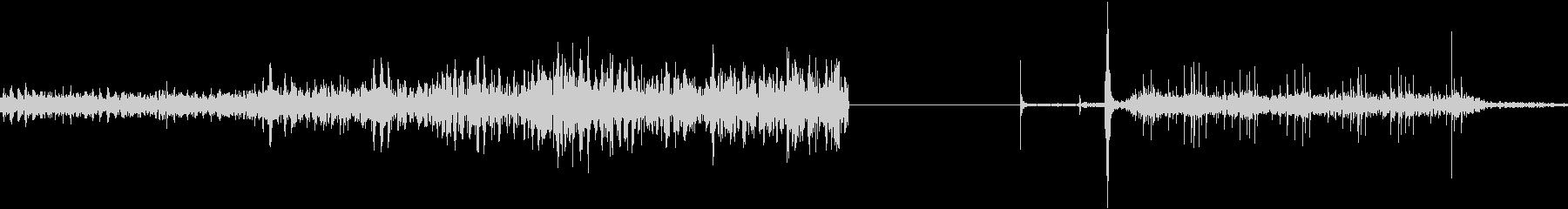 ペイントミキサーモーター:シェイク...の未再生の波形