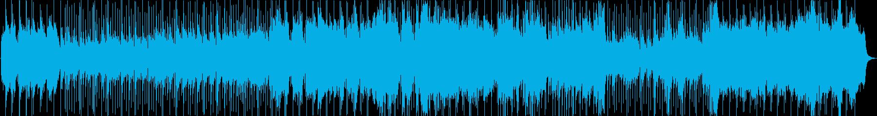 哀愁漂うレトロなBGMの再生済みの波形