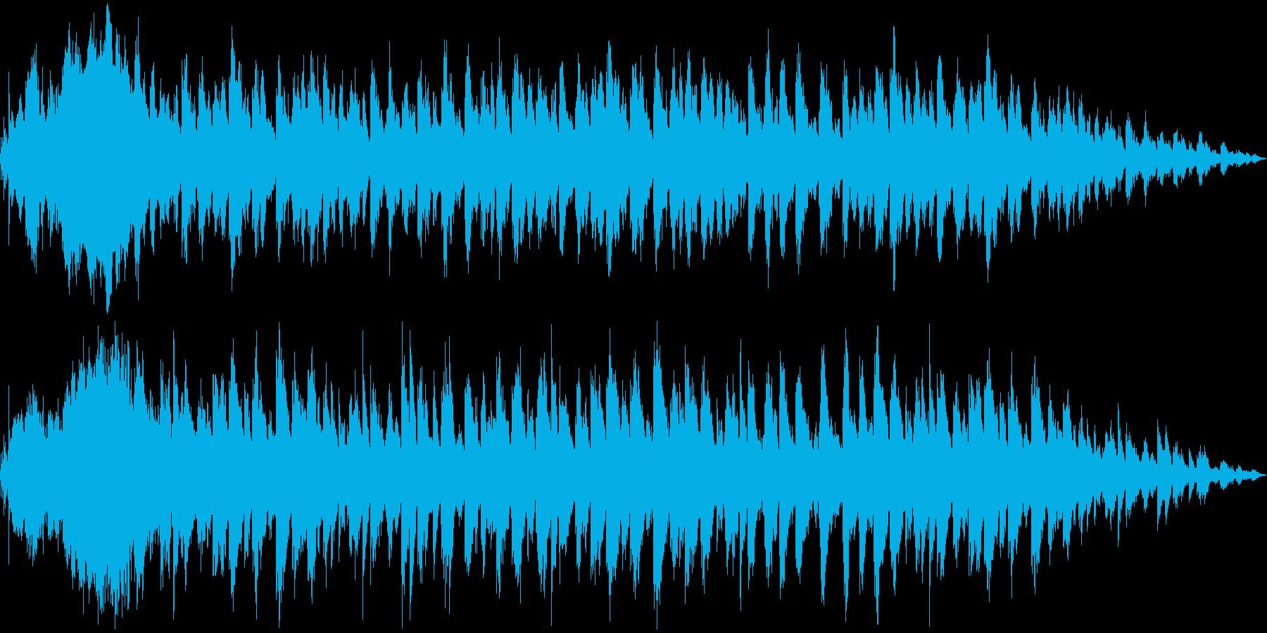 敗北・ゲームオーバー時の少し悲しいBGMの再生済みの波形