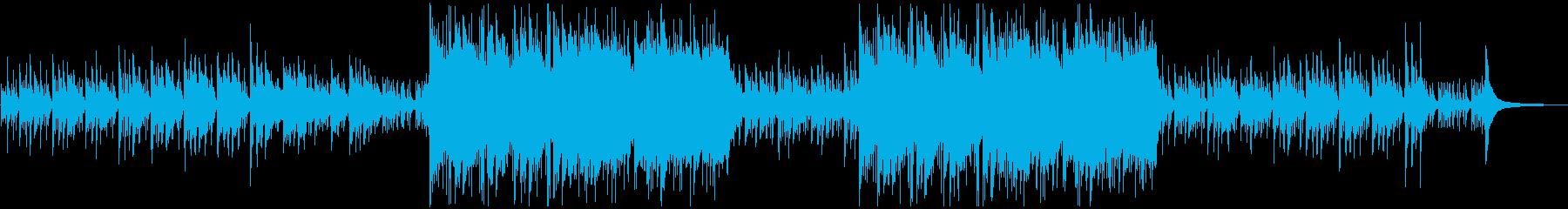ピチカートがノスタルジックな優しい曲の再生済みの波形