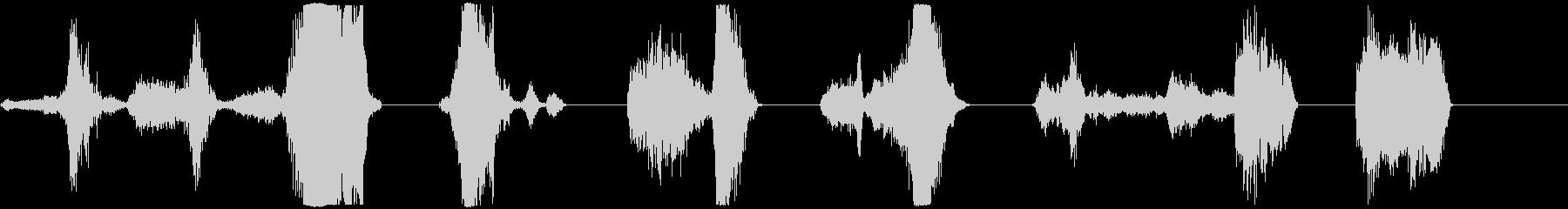アタックボーカルコンプ、男性X3、...の未再生の波形