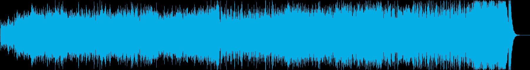 ダークでエキゾチックな壮大オーケストラ1の再生済みの波形