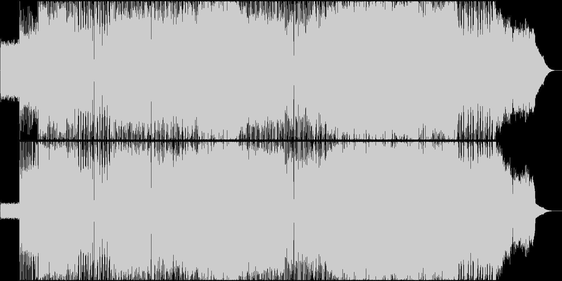 【生演奏】ギターリフが印象的なロックの未再生の波形