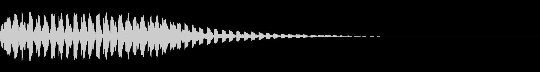 キュイン ギュイン 光る フラッシュ05の未再生の波形