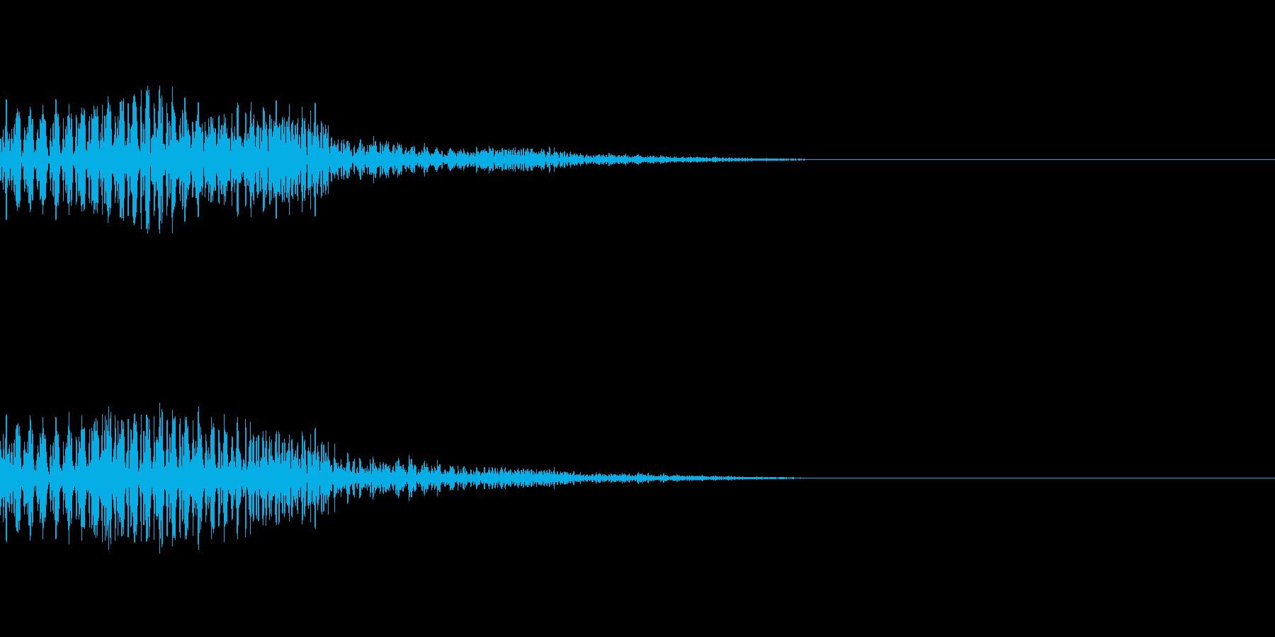 【Horror】NG【カーソル】の再生済みの波形