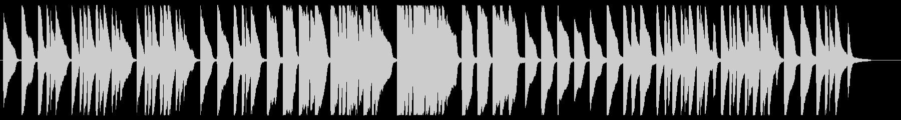 ほたるこい ピアノver.の未再生の波形