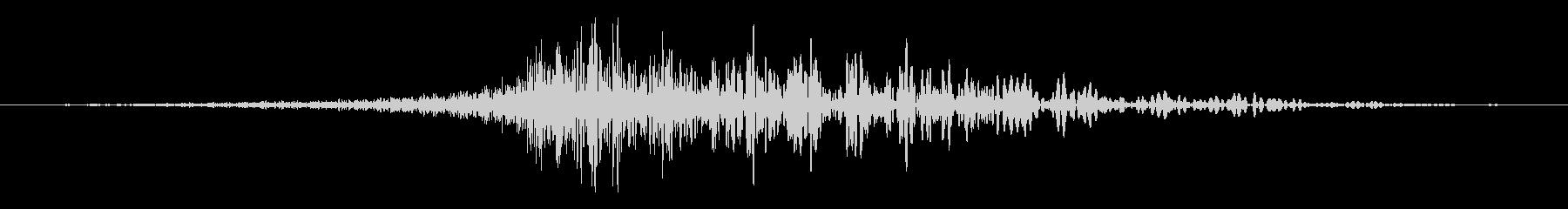 シューッという音EC02_54_3の未再生の波形