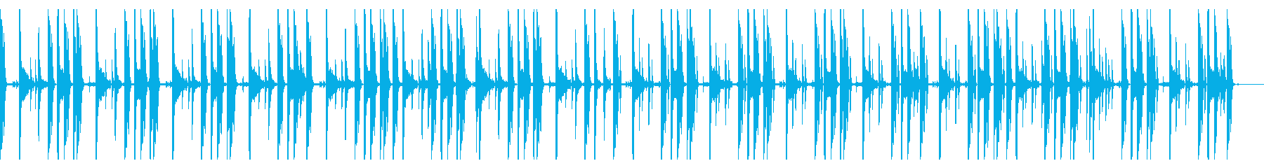 123 BPMの再生済みの波形