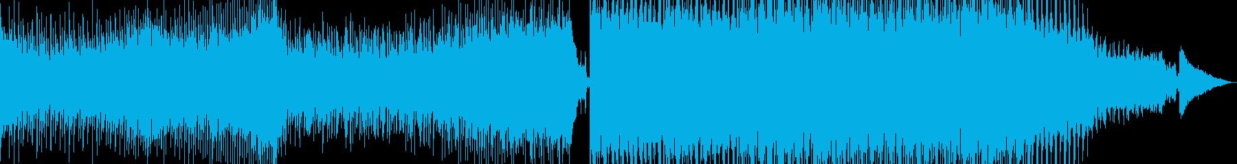 【トランス】切ない、泣きメロナンバーの再生済みの波形