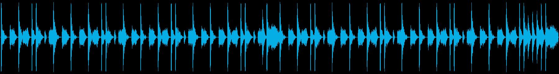 シンプルエレクトロ、紹介・宣伝動画にの再生済みの波形
