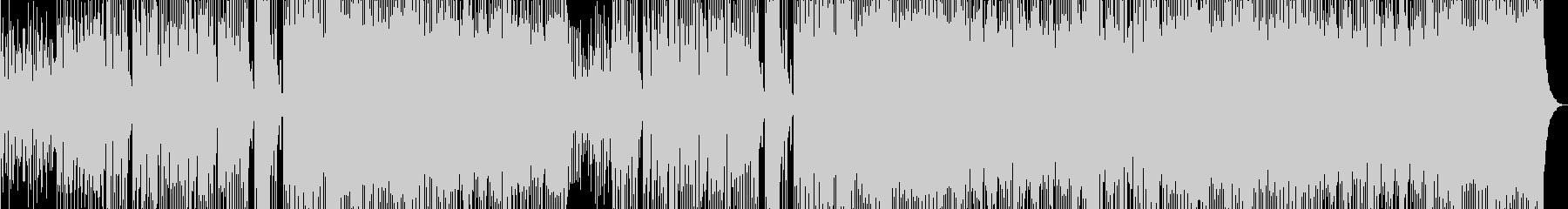 生演奏三味線 和風Future Bassの未再生の波形