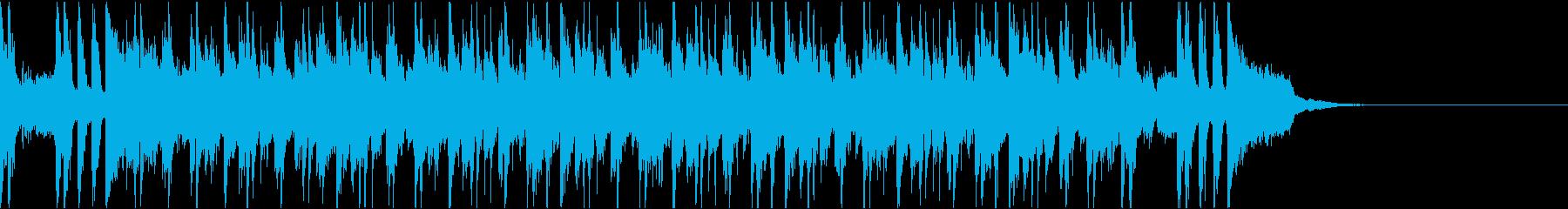 ゴージャスで大人なクラブサウンドBGMの再生済みの波形
