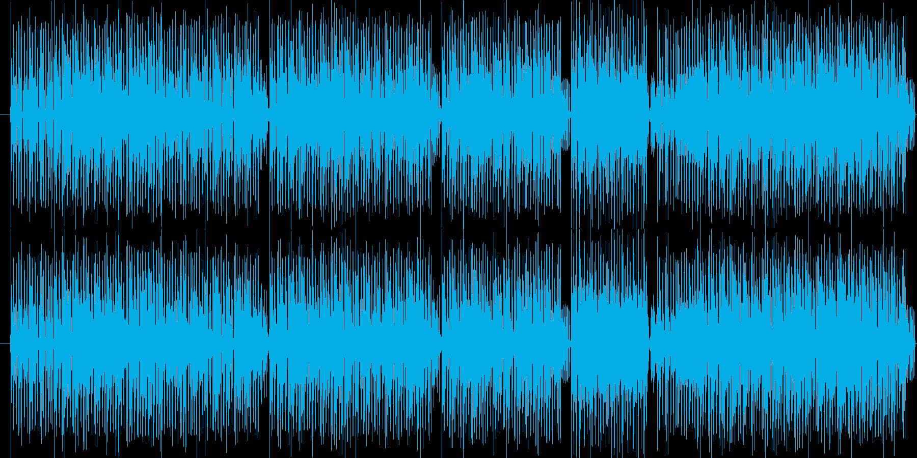 クールでエキサイティングなヒップホップの再生済みの波形