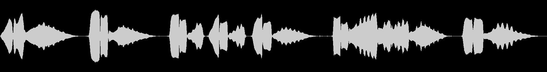 ハーモニカ:最後の投稿、漫画コメデ...の未再生の波形