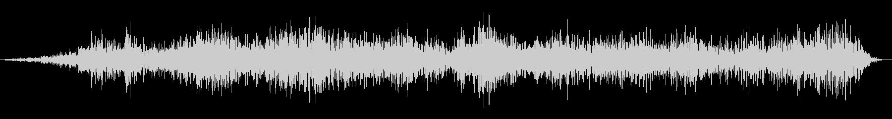 大釜の不気味なうめき声の未再生の波形