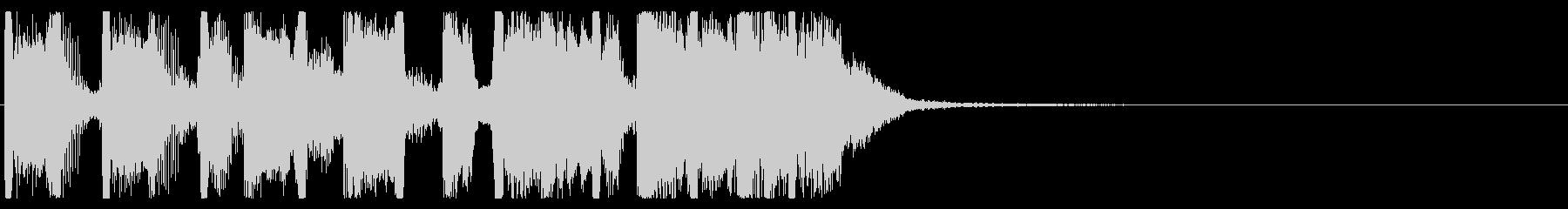 元気 楽しい スカロック ジングル③の未再生の波形