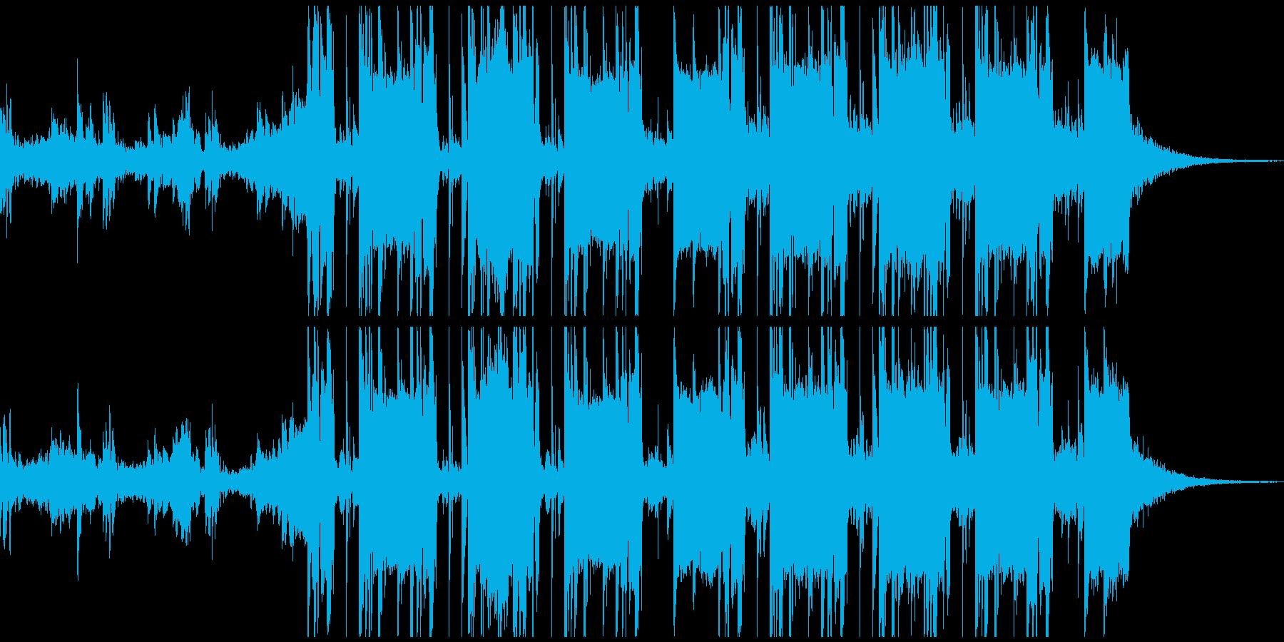ドラム & ベース ジャングル 感...の再生済みの波形
