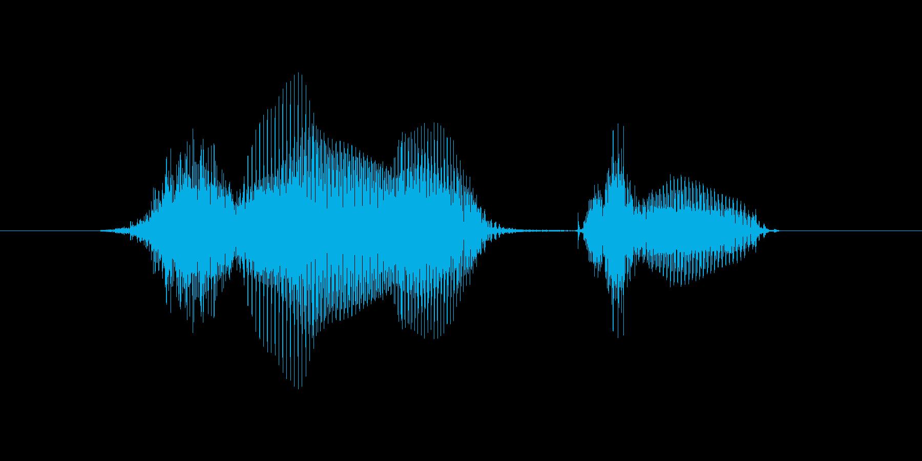 4月(4月・四月)の再生済みの波形